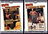 Santo the Diabolical Axe , Santo in the Border of Terror : Santo 2 Pack Collection