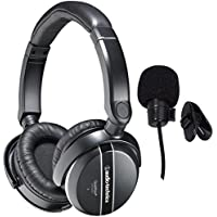 Audio-Technica ATH-ANC27X QuietPoint Active Noise-Canceling Headphones and Travel Case