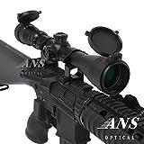 【Amazon.co.jp限定】ANS Optical ライフルスコープ 3-9x 40mm Pro 可変ズーム ハイエンドモデル シーグリーンコート バトラーキャップ 2,480円相当 キルフラッシュ付