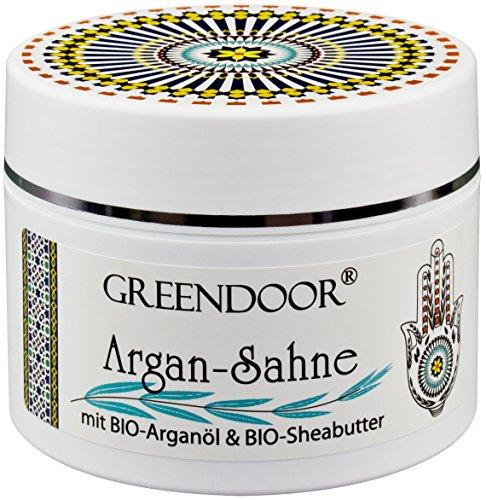 Greendoor Argan Creme / Argan-Sahne, aus BIO Arganöl und BIO Shea-Butter, Luxus Bodycream, Body Butter 200ml, Naturkosmetik aus der Manufaktur thumbnail