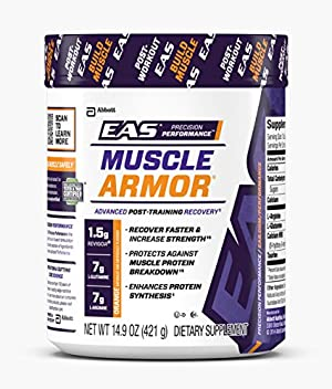 EAS Muscle Armor Dietary Supplement Powder, Orange, 14 Servings