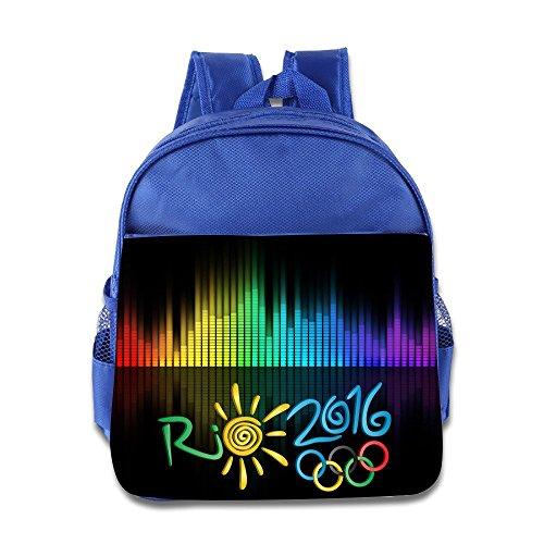 2016 Summer Olympics Rio De Janeiro Kids School Backpack Bag