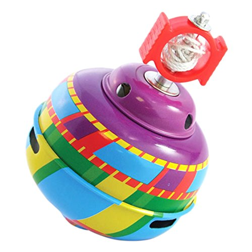 Schylling Whistling Tin Top Toy - 1