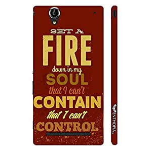 Sony Xperia T2 No Fire Brigade designer mobile hard shell case by Enthopia
