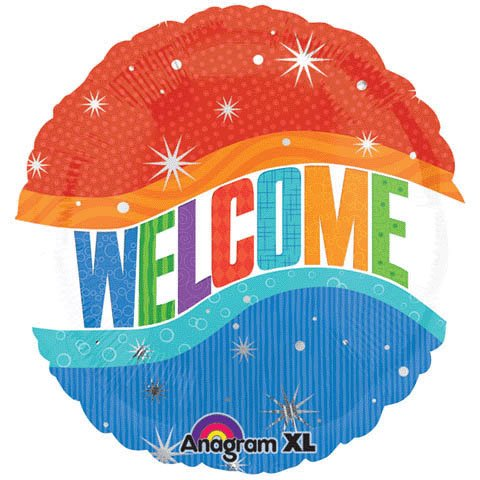 "18"" Warm Welcome by Anagram CD"
