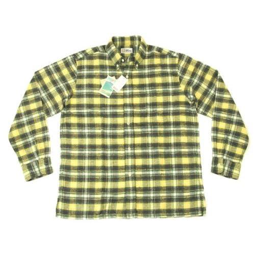 レインスプーナー(Reyn Spooner) 長袖シャツ reyn spooner チェックネルシャツ 0212-11-004(CH01) #1003黄色 (Lサイズ(アメリカサイズ))
