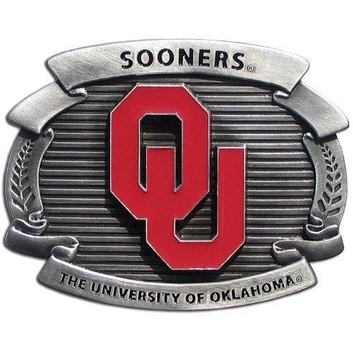 Siskiyou Sports OCB48 College Oversized Belt Buckle - Oklaho