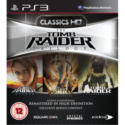 The Tomb Raider Trilogy (PS3) (UK IMPORT) tomb raider definitive edition ps4 русская версия