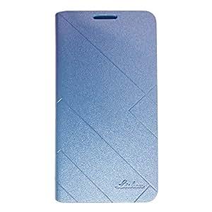 SAMSUNG GALAXY A7 LISHEN PROTECTIVE FLIP COVER BLUE