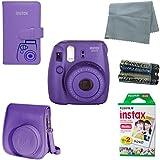 Fujifilm Instax Mini 8 Instant Camera Bundle with Accessory Kit (6 Items)