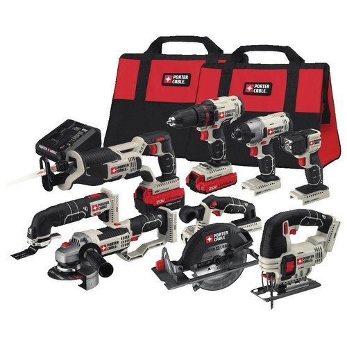 Fantastic Deal! PORTER-CABLE PCCK619L8 20V Max 8-Tool Combo Kit