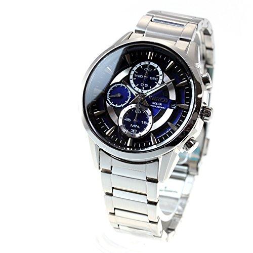 [ワイアード]WIRED 腕時計 ソーラー ハードレックス 10気圧防水 AGAD062 メンズ