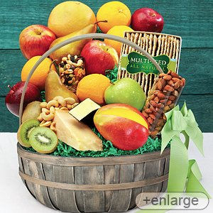 Stew Leonard's - Fruit, Cheese & Nuts Fruit Basket