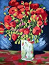 Van Gogh POPPIES Paint by Number Kit…