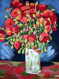 Van Gogh POPPIES Paint by Number Kit 11