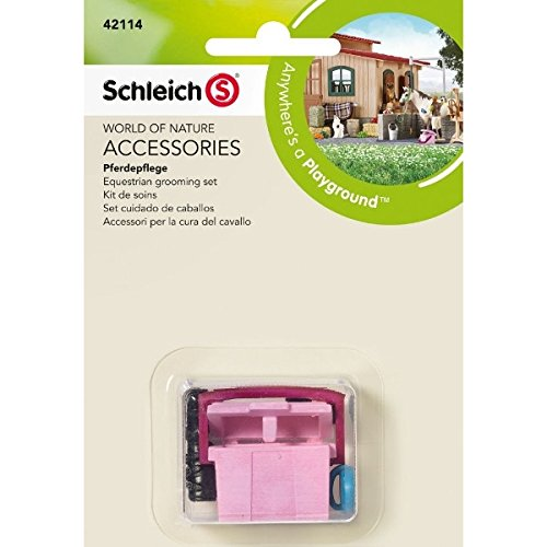 SCHLEICH NORTH AMERICA 42114 Equestrian Grooming Set