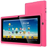 Zeepad 7'' Allwinnwer A13 Boxchip Cortex A8 Android 4.0, 4gb Capacity, 512 Mb Ram, Multiple Touch Capactive Screen, Wifi, Skype Video Calling, Netflix Movies with DUAL CAMERA (Pink)