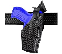 Safariland 6360 Level 3 Retention ALS Duty Mid-Ride Holster Right HandSig P226R with ITI M3, Basket Weave Black