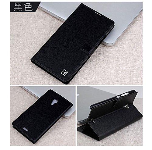 Huawei Ascend Mate 2 Case Silk Pu Flip L