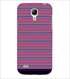 PrintDhaba Tribal pattern D-1831 Back Case Cover for SAMSUNG GALAXY S4 MINI (Multi-Coloured)