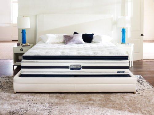 Beautyrest Recharge World Class Sweetbriar View Plush Pillow Top Mattress Set, California King front-1047787