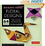 "Origami Paper - Floral Designs - 6"" -..."