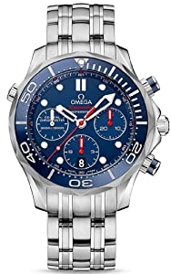 Omega Seamaster Diver 300M Co-Axial Chronograph Mens Watch 212.30.44.50.03.001
