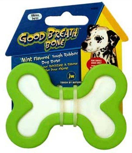 Jw Pet Company Good Breath Bone Dog Toy, Small (Colors Vary)