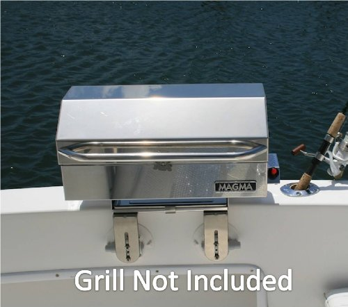 SeaSucker Marine BBQ Grill Removable Bracket - Powerful Vacuum Cup Mounts (GRILL NOT INCLUDED)