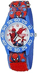 Marvel Spider-Man Kids' W002598 Spider-Man Analog Display Analog Quartz Red Watch