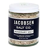 Jacobsen Salt Co. Rosemary Sea Salt Jar, 5.5 Ounce