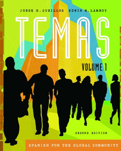 Temas: Spanish for the Global Community, Volume I (with Audio CD) (Temas (Thomson))