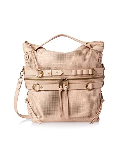 Joelle Hawkens Women's Victory Perforated Top Zip Large Tote, Sand