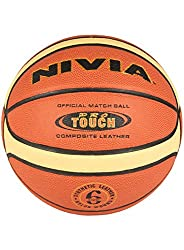 Original Nivia Pro Touch Basketball (Size-6)-Multicolor