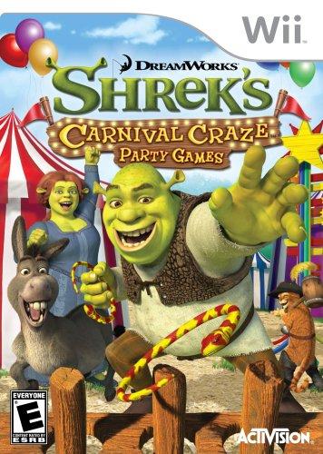 Shrek's Carnival Craze Party Games - Nintendo Wii - 1