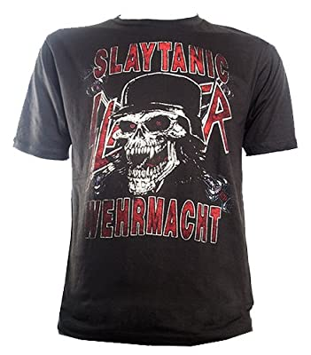 T-Shirt Slayer - Slaytanic Wehrmacht Fanclub Retro Vintage