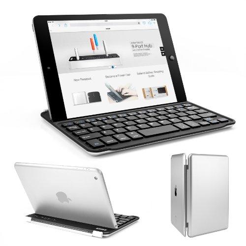 Anker iPad mini ウルトラスリムキーボードカバー iPad Mini/Mini Retina/Mini2 に対応 オートスリープ自動ON/OFF機能付き 18ヶ月保証