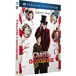 Charlie et la chocolaterie [Combo Blu-ray + DVD]