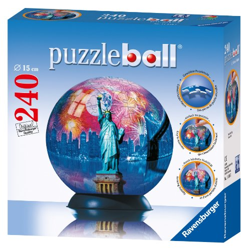 Cheap Fun Ravensburger New York City – 240 Piece puzzleball (B002R12KDA)