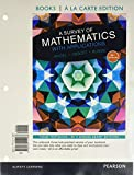 img - for A Survey of Mathematics with Applications a la Carte edition plus NEW MyMathLab with Pearson eText (10th Edition) book / textbook / text book