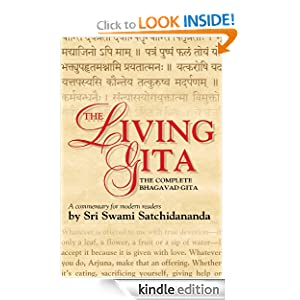 Cover of The Living Gita: The Complete Bhagavad Gita: a Commentary for Modern Readers by Sri Swami Satchidananda