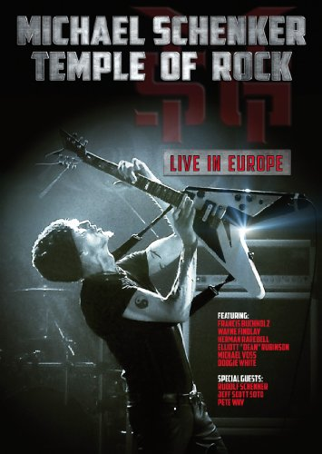 Temple of Rock: Live in Europe [DVD] [Import]