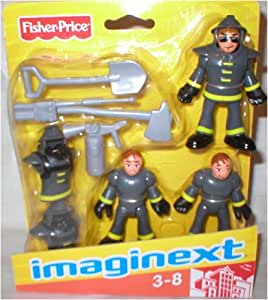 Imaginext Firefighter Figures with Tools