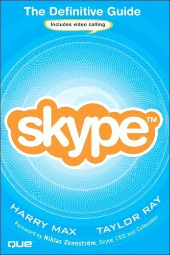 skype-the-definitive-guide-1st-first-by-max-harry-ray-taylor-2006-paperback