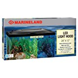 Marineland LED Aquarium Hood, 24 by 12