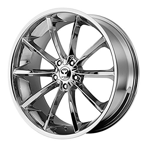 Lorenzo WL032 22x10.5 Chrome Wheel / Rim 5x115 with a 28mm Offset and a 72.60 Hub Bore. Partnumber WL03222515228 (07 300c Rims compare prices)