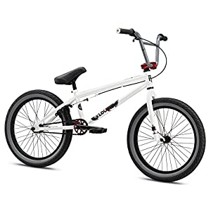 Mongoose Boy's Legion L60 Bicycle, 20-Inch, White