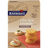 Barbara's Bakery Rite Lite Rounds, Original Crackers, 11-Ounce Boxes (Pack of 12) ~ Barbara's Bakery