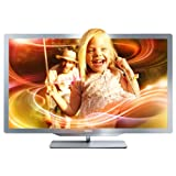 "Philips 37PFL7606K/02 94 cm (37 Zoll) Ambilight 3D LED-Backlight-Fernseher, EEK A (Full-HD, 400 Hz PMR, DVB-T/C/S, Smart TV) silbergrauvon ""Philips"""