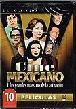 CINE MEXICANO Y LOS GRANDES MAESTROS DE LA ACTUACION [10 PELICULAS] EL SABOR DE LA VENGANZA & CUATRO HOMBRES MARCADOS & INTRIGA CONTRA MEXICO & LA RISA TRABAJANDO & LAS PUERTAS DEL PARAISO & LOS DOS HERMANOS & LA JUSTICIA TIENE DOCE ANOS & SIEMPRE HAY UNA